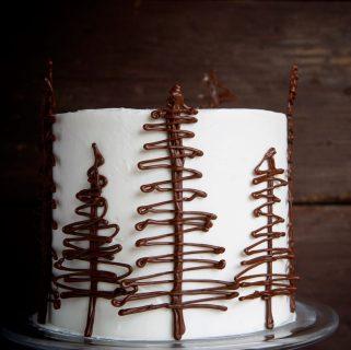 Winter Wonderland Cake