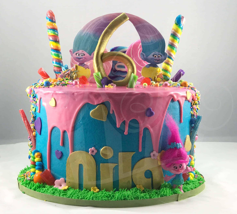 Trolls Kake I Am Baker