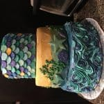 Beachy Mermaid Cake