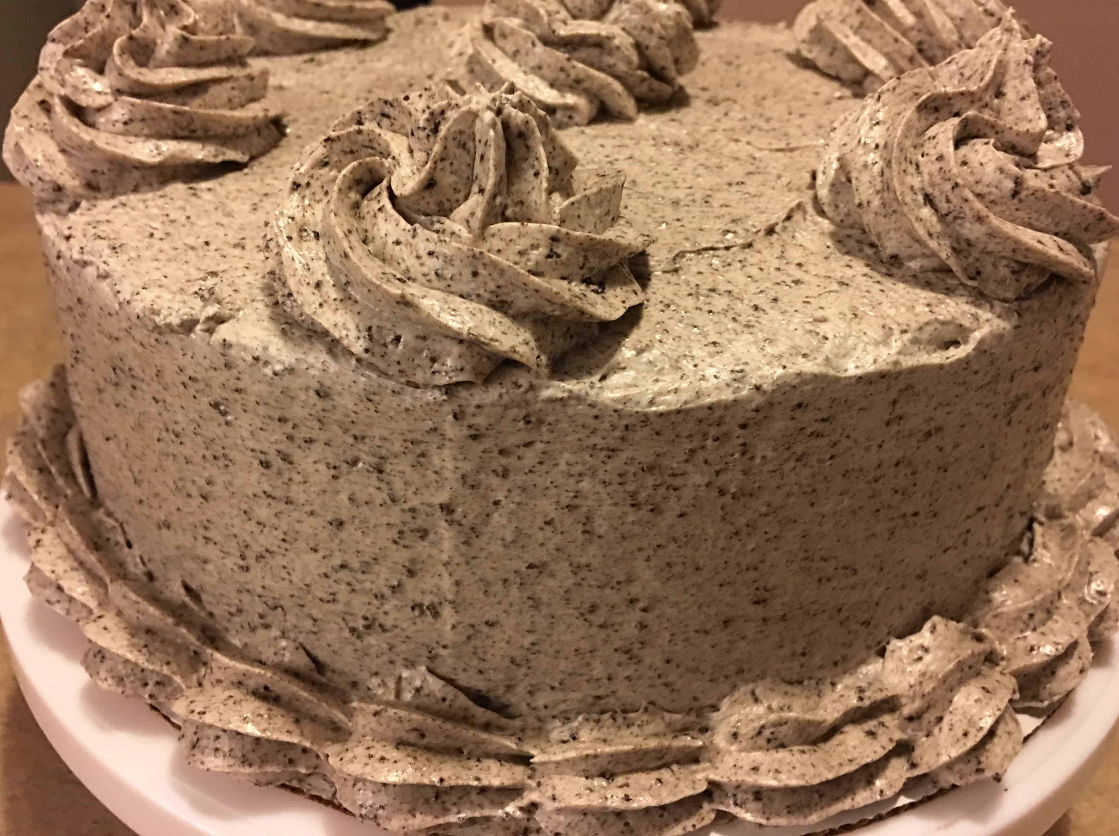Double Layer Oreo Cake I Am Baker