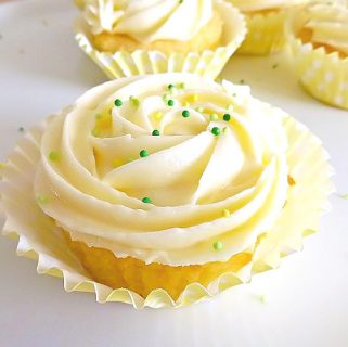Lemon and Lime Frosted Cupcakes