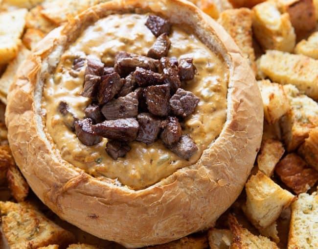 cheesesteak dip i am baker
