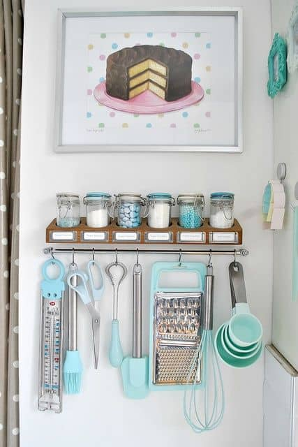 Marvelous Simple And Effective Storage For All Your Baking Needs!