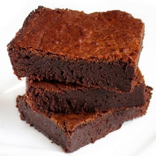 FUDGY DOUBLE CHOCOLATE CAPPUCCINO BROWNIES