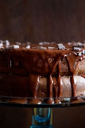 Seriously decadent and delicious cake!