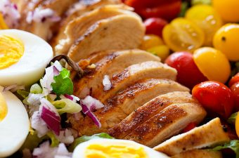 Grilled Chicken Tomato Salad