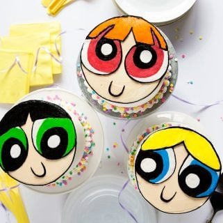 Powerpuff Girls Cake