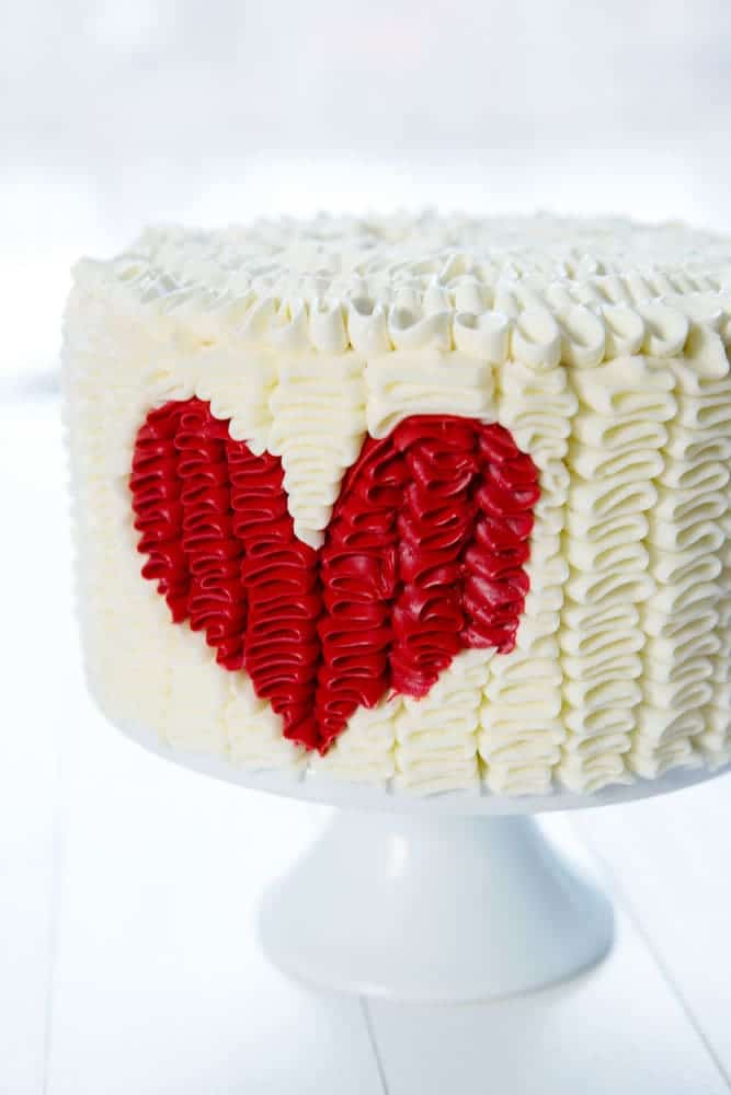 You'll be surprised at just how EASY this cake is!!
