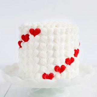 Buttercream Heart Surprise Inside® Cake