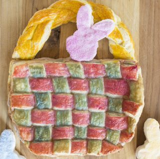 Easter Basket Puff Pastry