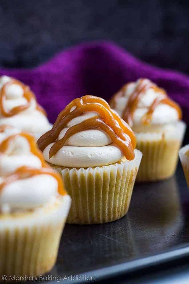 Salted Caramel Cupcakes I Am Baker