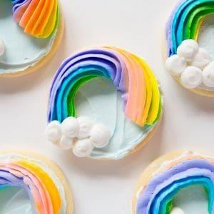 These pretty rainbows are such a fun treat!