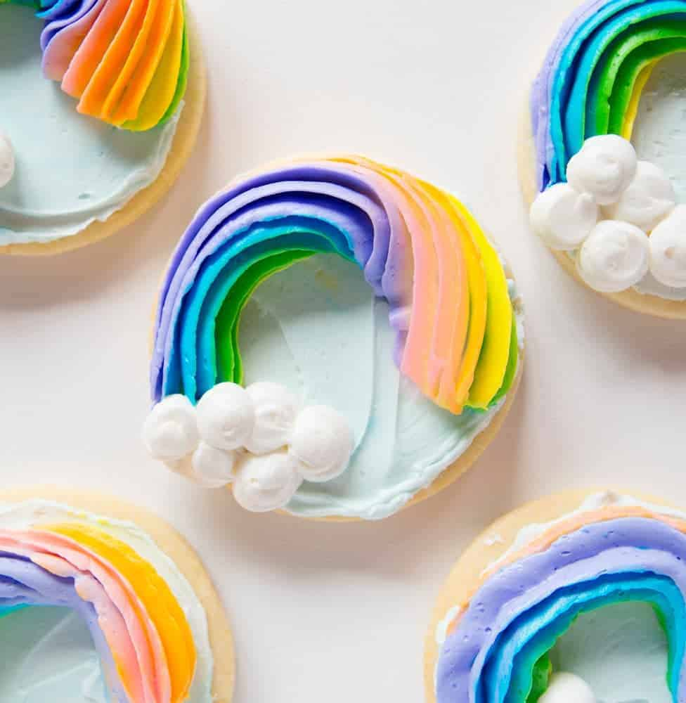 These pretty rainbows are such a fun treat!