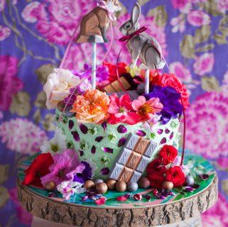 Easter Woodland Cake