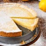 Simple Homemade Lemon Tart