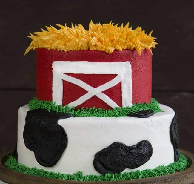 Cow And Barn Cake I Am Baker