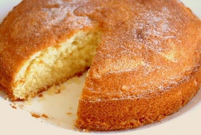 plain cake recipe i am baker