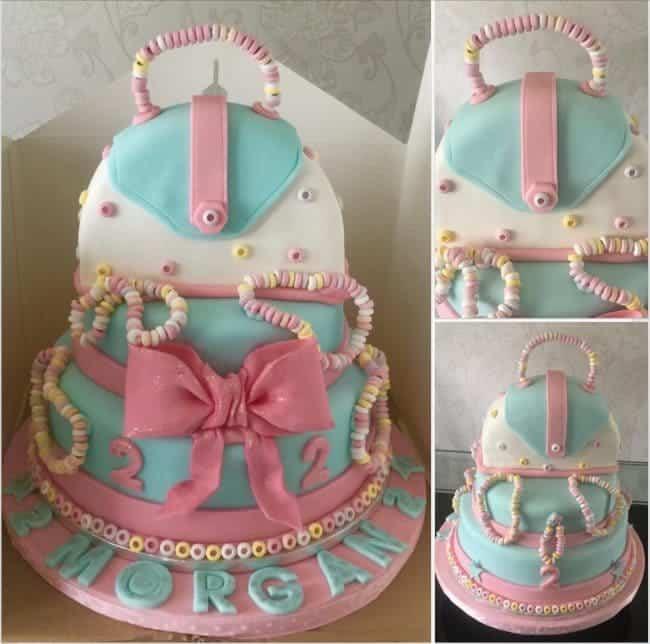 Sweetie Handbag Cake