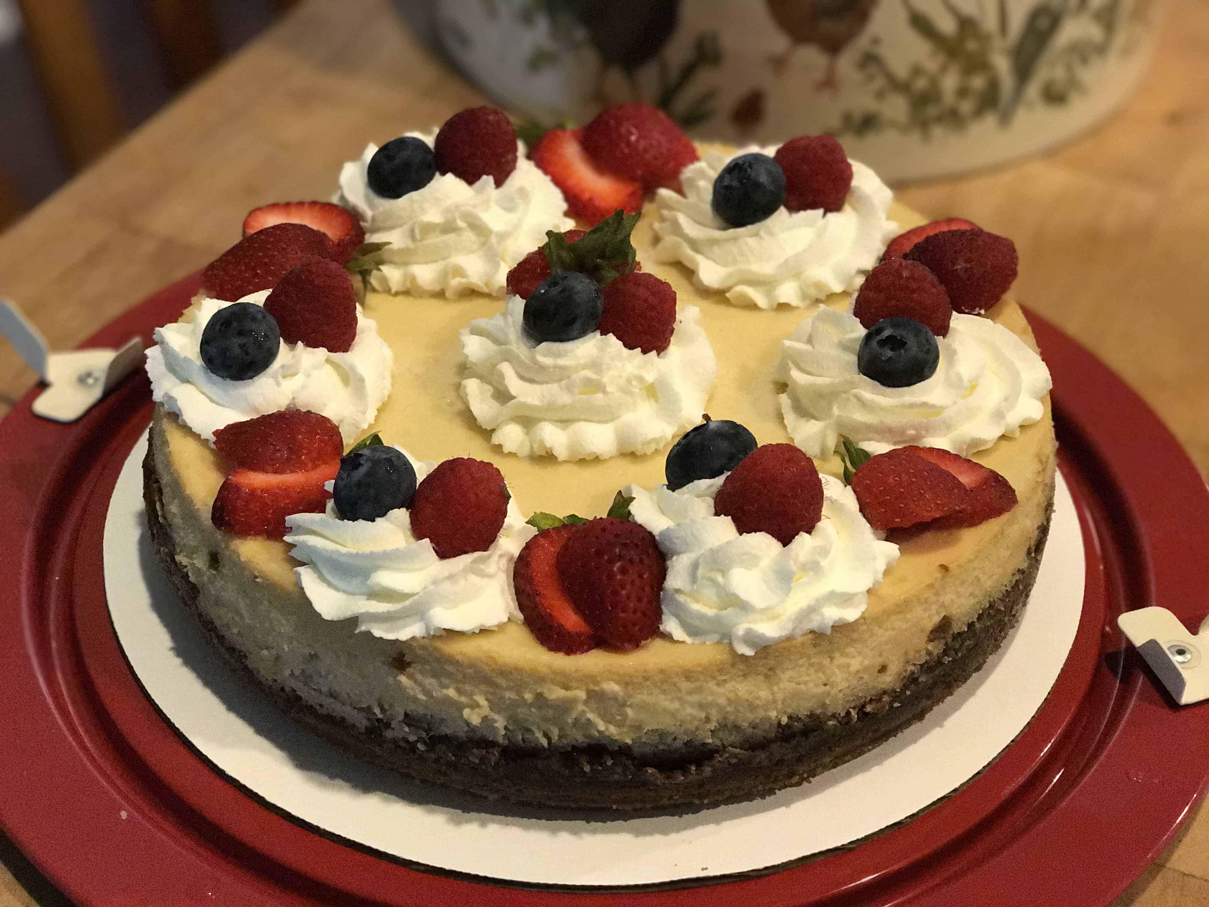 Triple Ginger Cheesecake - i am baker
