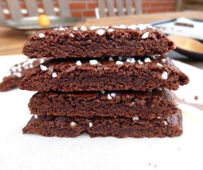 Märtas Skurna Chokladkakor (Swedish Sliced Chocolate Cookies)