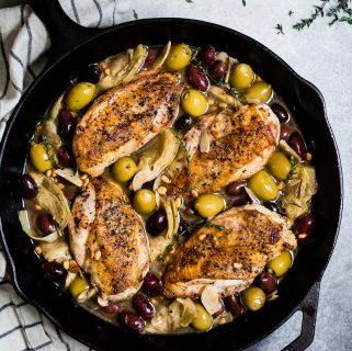 White Wine Skillet Chicken