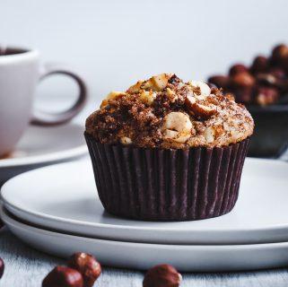 Hazelnut Chocolate Chunk Muffins
