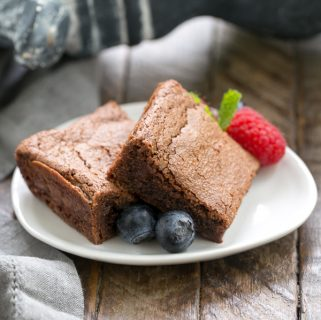 Simple Fudgy Brownies