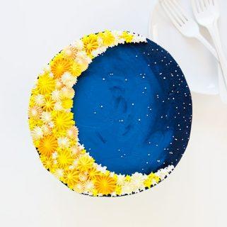 Crescent Moon Cake