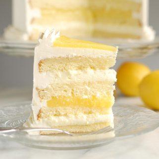 Luscious Lemon Mousse Cake