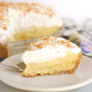 Pina Colada Pie (with or without rum)