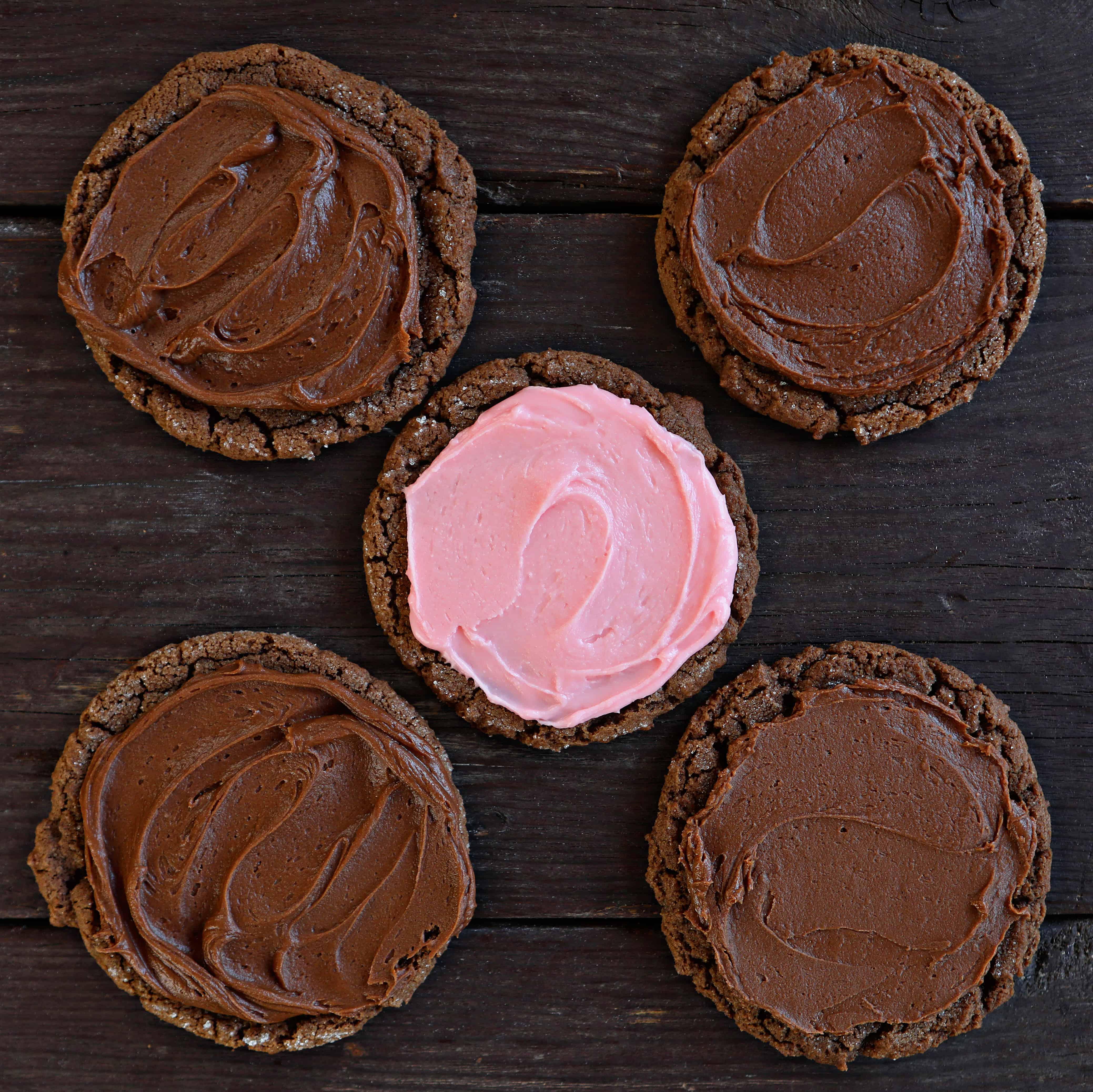 Dirty Chocolate Cookies