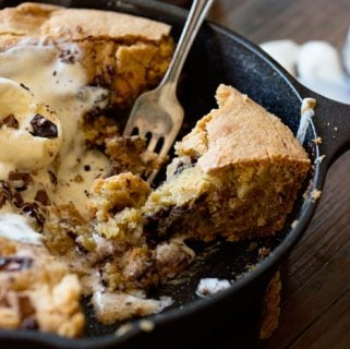 1,000 Layer Skillet Chocolate Chip Cookie