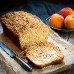 Quick Peach Streusel Bread
