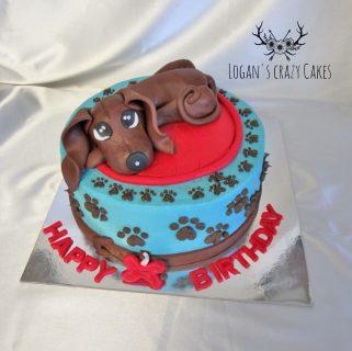 Doggo Cake