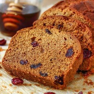 Honey Cranberry Bread