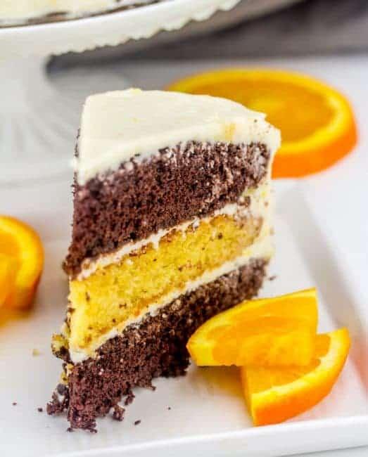 Orange Cocoa Cake