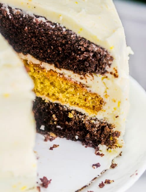A perfect pairing... chocolate and orange!