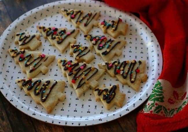 Christmas Butter Cookies I Am Baker