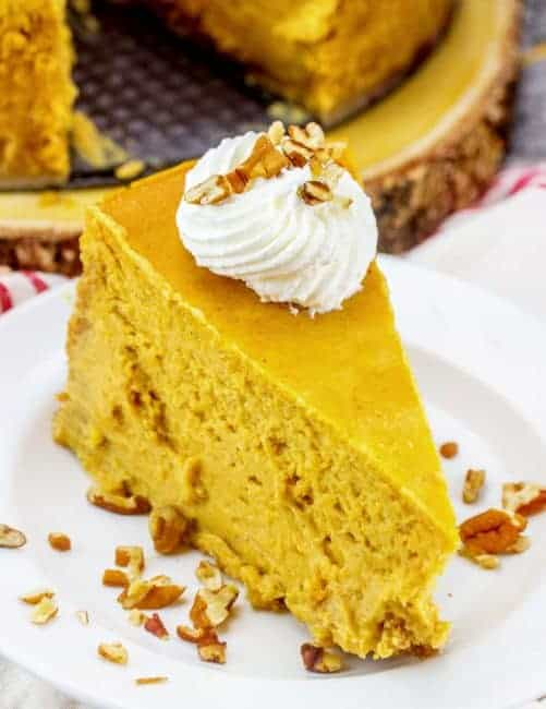 The Best Pumpkin Cheesecake