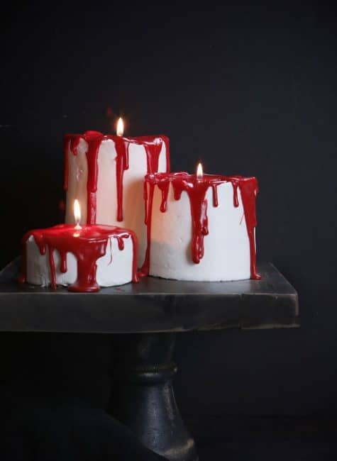 Bloody Candle Cakes I Am Baker