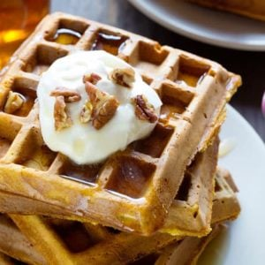 easy-pumpkin-waffles