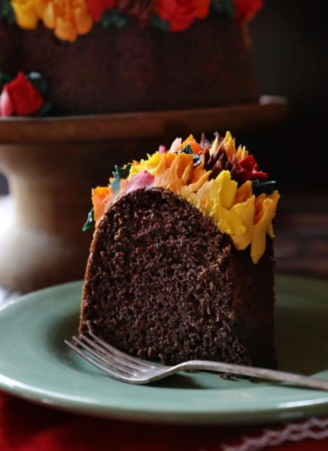 Moist Chocolate Bundt Cake