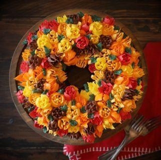Chocolate Bundt Harvest Cake