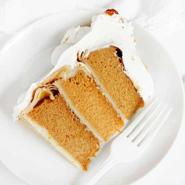EASY Pumpkin Pie in a CAKE!