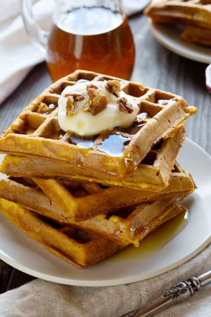How to Make Pumpkin Waffles