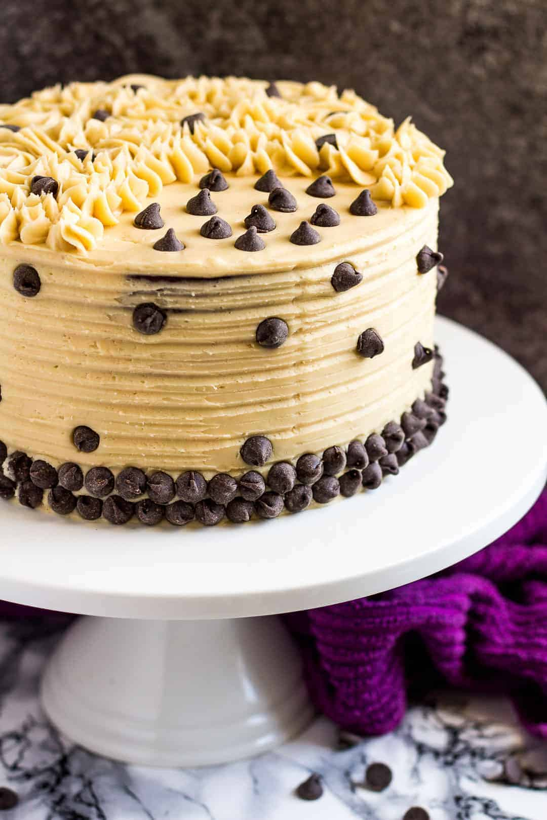 Mocha Layer Cake I Am Baker