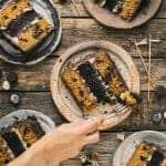Chocolate & Pumpkin Oreo Layer Cake