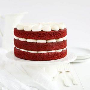 The most moist red velvet cake!