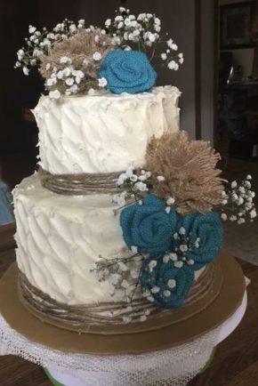Sweet 16 Red Velvet Rustic Cake