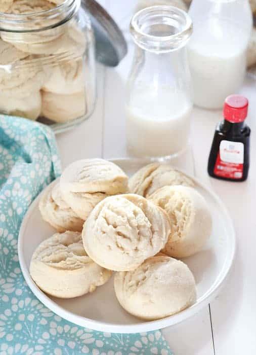 Amish Sugar Cookies #triedandtested #sugarcookies #vanilla #cookierecipe #bestcookie